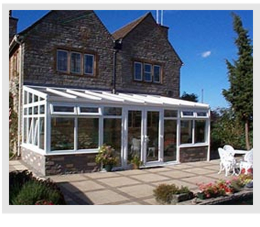 Example of Lean to Conservatory on an older style property