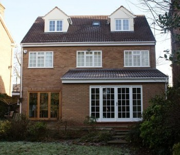 Example of single storey extension under permitted development