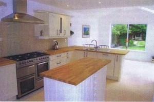 Kitchen Diner requiring planning permission